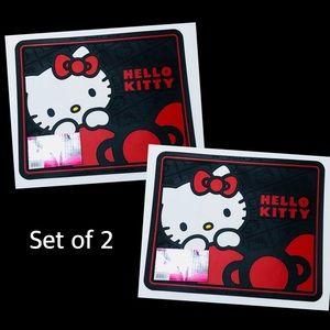 Hello Kitty Utility Mats - pair